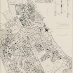 つくば市中心部土地利用図