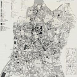 結城市中心部土地利用図