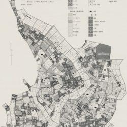 結城市大木地区土地利用図