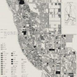 常陸太田市中心部土地利用図