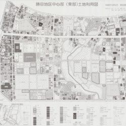 勝田地区中心部(東部)土地利用図