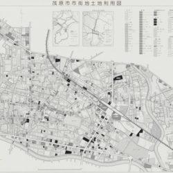 茂原市市街地土地利用図