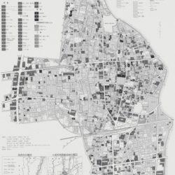 筑西市下館中心部土地利用図