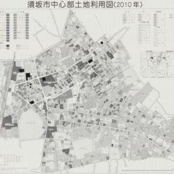 須坂市中心部土地利用図