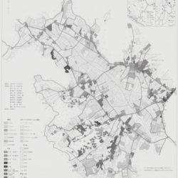 上田市菅平地区西組・向組土地利用図
