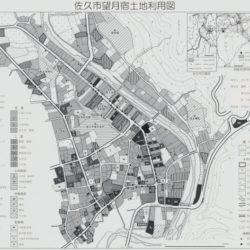 佐久市望月宿土地利用図
