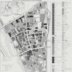 佐久市中込地区土地利用図