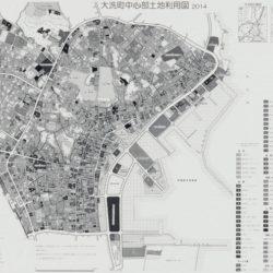 大洗町中心部土地利用図