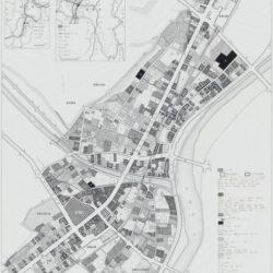 伊那市中心市街地土地利用図