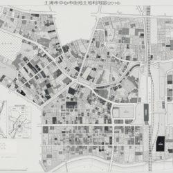 土浦市中心市街地部土地利用図