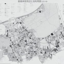 鹿島神宮周辺土地利用図