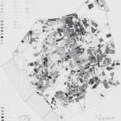 鉾田町鳥栖地区の土地利用図