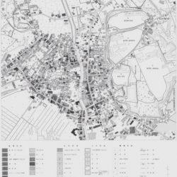 鉾田町中心部土地利用図