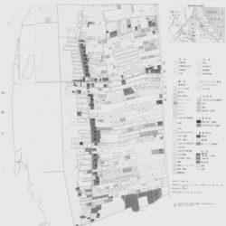 波崎町川尻地区土地利用図