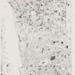 波崎町矢田部地区土地利用図